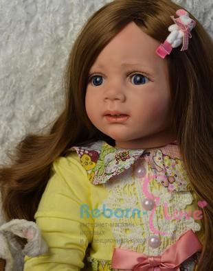 Кукла реборн Бусинка