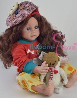 Кукла реборн Шотландка (арт. #3-2)