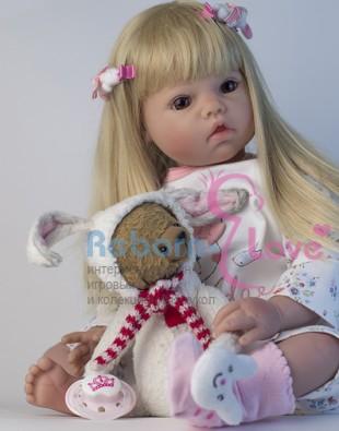 Кукла реборн Беляночка