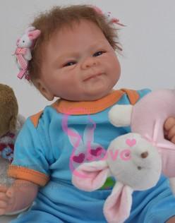 Кукла реборн Зайчишка (арт. #7-1)